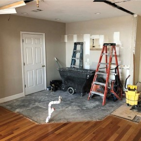 Kitchen Construction 2